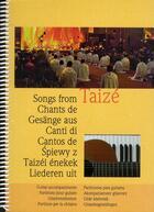 Couverture du livre « Chants de Taizé : partitions pour guitare » de Collectif aux éditions Presses De Taize