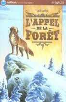 Couverture du livre « L'appel de la forêt » de Jack London aux éditions Nathan