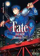 Couverture du livre « Fate/stay night |heaven's feel] T.6 » de Type-Moon et Taskohna aux éditions Ototo
