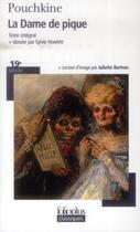 Couverture du livre « La dame de pique » de Pouchkine Alexa aux éditions Gallimard