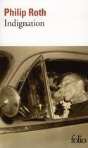 Couverture du livre « Indignation » de Philip Roth aux éditions Gallimard