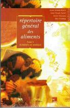Couverture du livre « Répertoire général des aliments t.5 ; aliments de marque » de Collectif aux éditions Inra