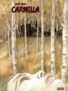 Couverture du livre « Carmilla » de Terzo aux éditions Vertige Graphic