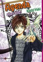 Couverture du livre « Agenda kaori yuki 2011/2012 » de Collectif aux éditions Tonkam