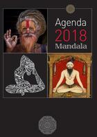 Couverture du livre « Agenda mandala (édition 2018) » de Collectif aux éditions La Plage