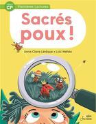 Couverture du livre « Sacrés poux ! » de Loic Mehee et Anne-Claire Leveque aux éditions Belin Education
