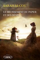Couverture du livre « Le bruissement du papier et des désirs » de Sarah Mccoy aux éditions Michel Lafon