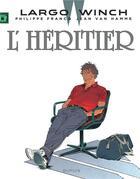 Couverture du livre « Largo Winch T.1 ; l'héritier » de Jean Van Hamme et Philippe Francq aux éditions Dupuis