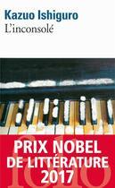 Couverture du livre « L'inconsolé » de Kazuo Ishiguro aux éditions Gallimard