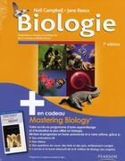 Couverture du livre « Biologie (7e édition) » de Neil Campbell aux éditions Renouveau Pedagogique