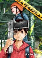 Couverture du livre « Assassins T.1 » de Hirohisa Sato aux éditions Komikku