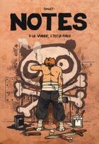Couverture du livre « Notes T.3 ; la viande, c'est la force » de Boulet aux éditions Delcourt