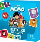 Couverture du livre « Tempo memo ; histoire de France » de Wennagel Ferret aux éditions Quelle Histoire