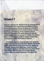 Couverture du livre « Silenci? /Anglais » de Pique Ramon aux éditions Actar