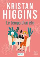 Couverture du livre « Le temps d'un été » de Kristan Higgins aux éditions Harpercollins
