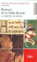 Couverture du livre « Romans de la table ronde » de Baumgartner Emmanuel aux éditions Gallimard