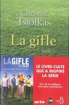Couverture du livre « La gifle » de Christos Tsiolkas aux éditions Belfond