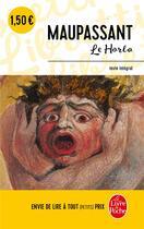 Couverture du livre « Le horla » de Guy de Maupassant aux éditions Lgf