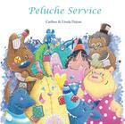 Couverture du livre « Peluche-service » de Ursula Dejean et Catibou aux éditions Nephelees