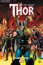 Couverture du livre « Thor T.1 ; Ragnarok » de Michael Avon Oeming et Andrea Di Vito aux éditions Panini