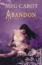 Couverture du livre « Abandon t.3 ; l'éveil » de Meg Cabot aux éditions Black Moon