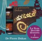 Couverture du livre « La pâtisserie Dukan ; coffret » de Pierre Dukan aux éditions J'ai Lu