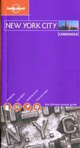 Couverture du livre « Condensed New York City » de Collectif aux éditions Lonely Planet France