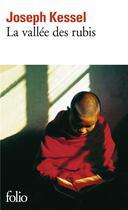 Couverture du livre « La vallée des rubis » de Joseph Kessel aux éditions Gallimard