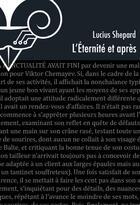 Couverture du livre « L'éternité et après » de Lucius Shepard aux éditions Le Belial