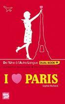 Couverture du livre « I love Paris » de Sophie Michard aux éditions Talents Hauts