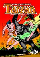 Couverture du livre « Tarzan ; INTEGRALE VOL.2 » de Joe Kubert et Edgar Rice Burroughs aux éditions Editions Delirium