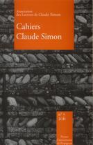 Couverture du livre « Cahiers claude simon n 7 » de Julien Anne Yvo aux éditions Pu De Perpignan