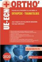 Couverture du livre « Ue-ecn+ orthopedie 3 » de Goncalves aux éditions Vernazobres Grego