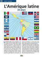 Couverture du livre « L'Amérique latine ; 22 pays » de Collectif aux éditions Aedis