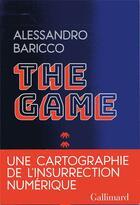 Couverture du livre « The game » de Alessandro Baricco aux éditions Gallimard