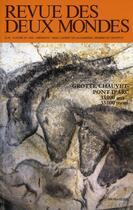 Couverture du livre « REVUE DES DEUX MONDES ; grotte Chauvet » de Collectif aux éditions Revue Des Deux Mondes