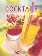 Couverture du livre « Cocktails Pour Toutes Les Occasions » de Gilbert Delos aux éditions Selection Du Reader's Digest