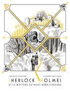 Couverture du livre « Sherlock Holmes et le mystère du Haut-Koenigsbourg » de Vlou et Jacques Fortier aux éditions Le Verger