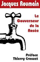 Couverture du livre « Le gouverneur de la rosée » de Jacques Roumain aux éditions Thaulk