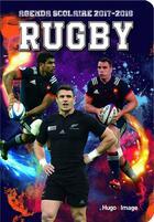 Couverture du livre « L'Agenda Scolaire 2017-2018 Rugby » de Collectif aux éditions Hugo