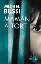 Couverture du livre « Maman a tort » de Michel Bussi aux éditions A Vue D'oeil