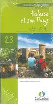 Couverture du livre « R145 falaise et son pays 23 circuits » de Collectif aux éditions Calvados