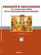 Couverture du livre « Proximité et participation ; les nouveaux outils de la communication territoriale » de Andre Hartereau aux éditions Territorial
