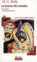 Couverture du livre « La guerre des mondes » de Herbert George Wells et Helene Tronc aux éditions Gallimard