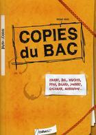 Couverture du livre « Copies du bac » de Bruno Leandri aux éditions Chiflet