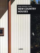 Couverture du livre « New country houses » de Mostaedi A aux éditions Links
