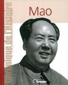 Couverture du livre « Mao » de Collectif aux éditions Chronique