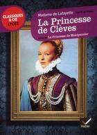 Couverture du livre « La princesse de Clèves ; la princesse de Montpensier » de Madame De La Fayette aux éditions Hatier