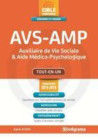 Couverture du livre « AVS-AMP ; concours 2015 » de Agnes Busko aux éditions Studyrama