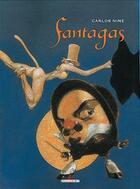 Couverture du livre « Fantagas t.1 » de Carlos Nine aux éditions Delcourt